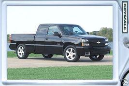 KEYTAG 2003~2004~2005~2006 BLACK CHEVY SILVERADO SS KEY CHAIN PORTE CLE ... - $9.95