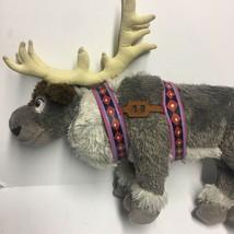 Sven reindeer the snow queen stuffed animal plush walt disney 40.6cm - $22.09