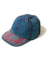 Kapital 11.5 oz denim x hickory KOLA CAP Indigo Made in Japan - $229.99