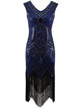 Vijiv Women 1920s Gastby Sequin Art Nouveau Embellished Night Out & Cock... - $46.65