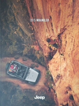 2015 Jeep WRANGLER brochure catalog US 15 Unlimited Sport Sahara Rubicon - $12.00