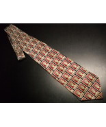 Museum Artifacts Neck Tie Olympics Stamps 1956 Summer Games Melbourne Au... - $12.99
