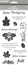 Autumn Harvest, Thanksgiving, Clear Stamp Set by TPC Studio