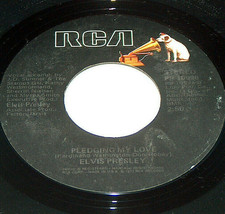 45 RPM Elvis Presley Pledging My Love, Way Down 1977 RCA Record PB-10998 EX - $9.88