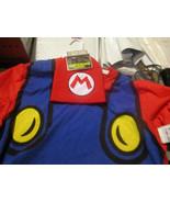 Super Mario Shirt & Beanie Combo NWT Nintendo Brand Men's XL Costume Cos... - $8.81