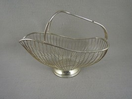 Silver-plated Wine Basket E L   Italy - $19.80