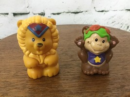 Fisher Price Little People Replacement Circus Animals Monkey Lion - $6.92