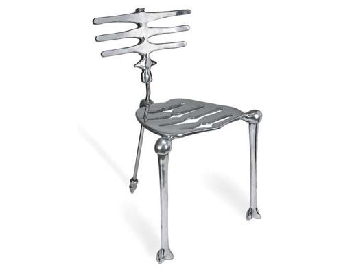 L skeleton chair 1