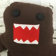 Jumbo Domo Plush Dark Brown Japanese Anime Character Stuffed Animal Toy - $29.69