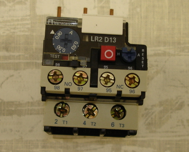 Telemecanique Thermal Overload Relay LR2 D1304