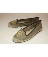 Michael Kors US 6.5 Gold Brown Espadrilles Flats Women's - $42.00