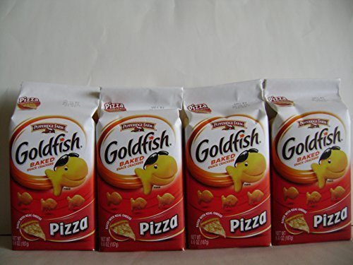 Gold Fish Baked Snack Pizza . (6.6oz X 4packs)