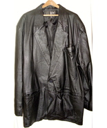 Leather Jacket Men's black by g-li - $71.50