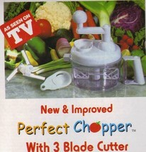 NEW Perfect Chopper by TV Xmas Gift - $31.14