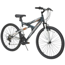 "Full Suspension Mens Mountain Canyon Bike 26"" 21-Speed Shimano Dynacraft Bicycle - $282.10"
