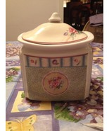 222 Fifth Grandma's Cupboard Fine Porcelain China Salt Box Collectible R... - $39.99