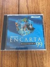Microsoft Encarta Encyclopedia 99 Version A Ships N 24h - $22.83