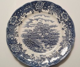 "English Village, Salem China Co., Dinner Plate, 10"" - $13.00"