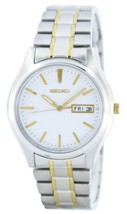 Seiko Day Date Stainless Steel Band with Sapphire Crystal Glass# SGGA67P... - $135.90