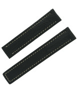 Tag Heuer 18 - 17 mm Black Leather Men's Watch Band - $199.00