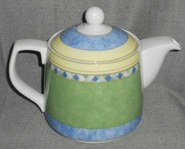 1999 Royal Doulton CARMINA PATTERN Five Cup TEAPOT w/LID - $79.19