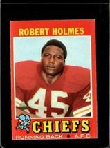 1971 TOPPS #254 ROBERT HOLMES VG+ RC ROOKIE CHIEFS  *X2610 - $1.73