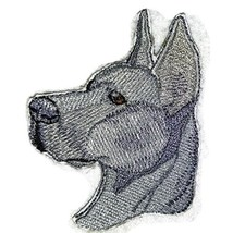 "Amazing [Great Dane Dog Face ] Embroidery Iron On/Sew patch [4"" x 3.2""][... - $6.92"