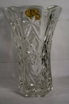 Anchor Hocking Star of David, Prescut EAPC, 10 inch Vase - No Cracks nor... - $16.73