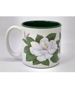 Vintage Flowers Inc Balloons Fib Bogart GA Mug Jane Bowen Magnolia Flowe... - $12.86