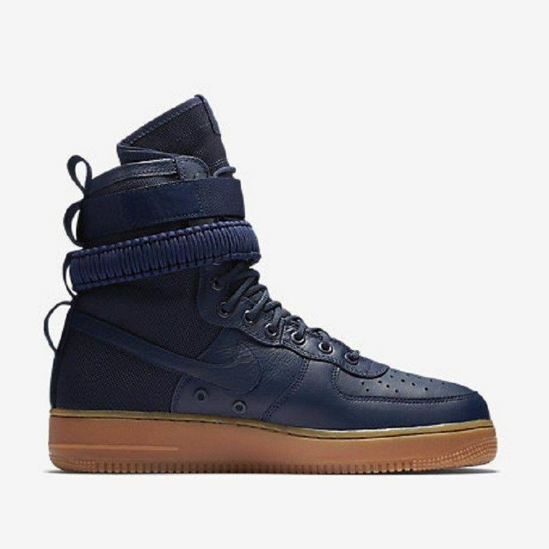 Nike SF Air Force 1 Mid triple black Uomo |