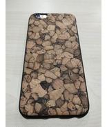 EcoQuote iPhone 6 Plus / 6s Plus Handmade Phone TPU Cork Case Finishing ... - $26.00