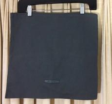"John Varvatos Dust Bag Dark Grey cloth 14 3/4"" x 15 3/4"" dust bag storage - $12.87"
