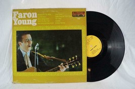 Vintage Faron Young Self Titled LP Vinyl Record - £3.69 GBP