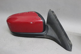 03 04 05 06 07 Honda Accord Coupe Right Passenger Side Power Red Door Mirror Oem - $69.29