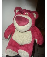 "Disney Store 12"" Lotso Bear Plush Toy Story 3 Disney Pixar Lotso Huggin ... - $14.85"