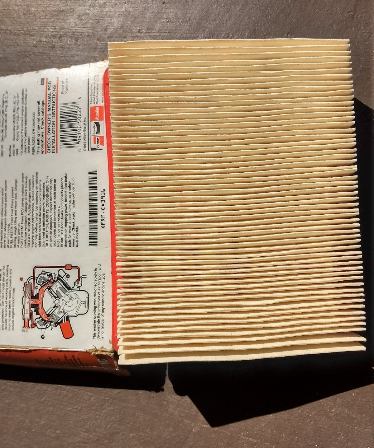 1988 Fram Air Filter CA3916 for some Buick and 20 similar items