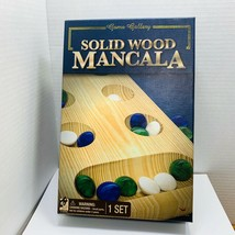 Mancala Solid Wood Board By Game Gallery  - $12.20
