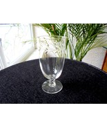 Set of 6 Fostoria Holly Pattern Square Stem Crystal Juice Glasses - $29.70
