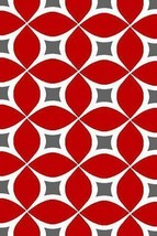 PREMIUM 3D Hand Carved Modern 3x5 4x6 Rug Contemporary 4040 Red Grey Gray - $75.00