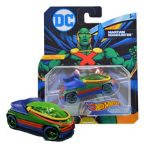 Hot Wheels DC Martian Manhunter Character Cars First Appearance! Mint on... - $11.88
