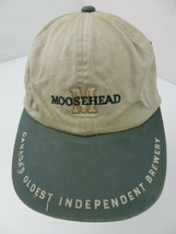 Moosehead Canada's Oldest Independent Brewery Adjustable Adult Cap Hat - $12.86