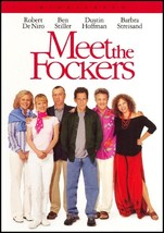 Meet the Fockers DVD 2005 Widescreen  De Niro Stiller Hoffman Streisand NEW - $8.00