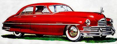 Primary image for 1949 50th Anniversary Packard Super - Promotional Advertising Poster