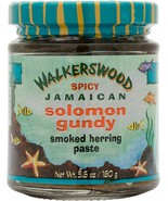 3 Bottles Organic Spicy Smoked Solomon Gundy Herring paste Walkerswood J... - $36.47
