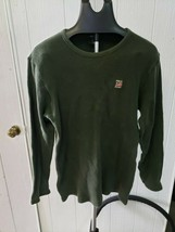 Vintage Polo Jeans Co. Ralph Lauren Mens Green Thermal Long Sleeved Size XL - $19.99