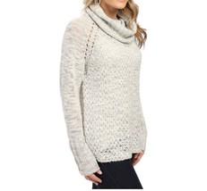 Sanctuary Sweater SZ XL Heather Silver Cozy Tunic Turtleneck Knit Sweater - €52,81 EUR