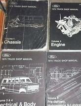 1975 Ford F100 F-150 250 350 Econoline Truck Service Shop Reparatur Hand... - $168.39