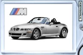 KEYTAG SILVER BMW 3 SERIE Z3 M3 CONVERTIBLE KEYCHAIN SCHLÜSSELANHÄNGER L... - $9.95