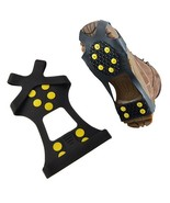 Practical Studded Snow Grips Ice Grips Anti Slip Snow Shoes Crampon New   - $9.78