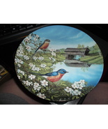 Knowles Bluebirds In Spring by Sam Timm 1990 - $30.00